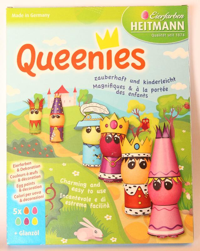 Queenies - teintures et personnages