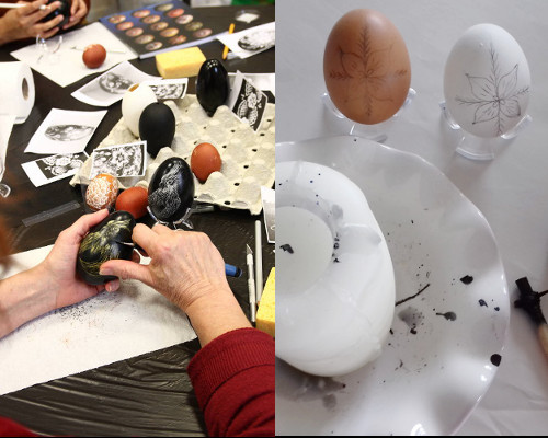 Atelier Initiation au Pysanka et au Grattage  au salon de Tours (87)