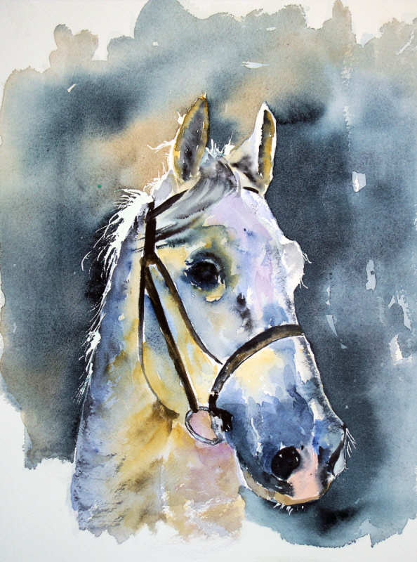 Joelle Guillaume - Watercolor