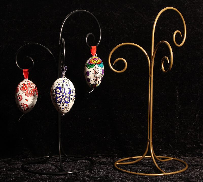 Decorated egg shell : Hanging stand for all type of egg shells