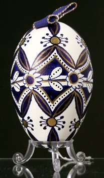 Painted egg - Hungary