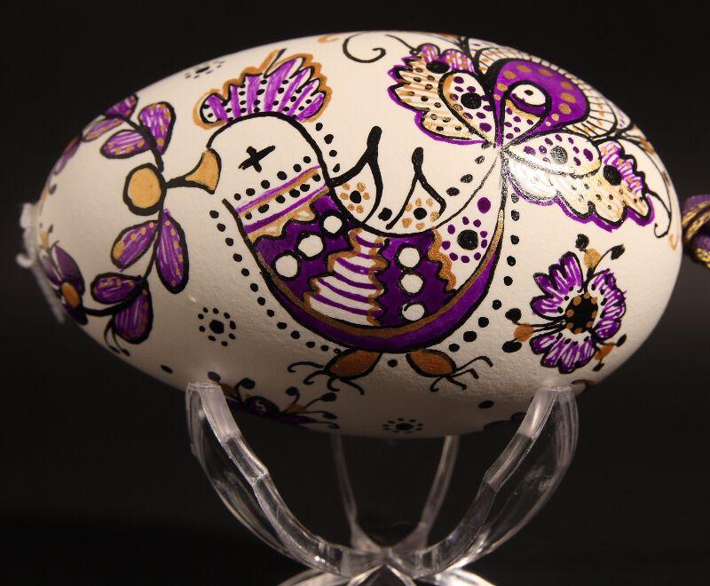 oeuf pour une sculpture les teintures et peintures teindre un oeuf ...
