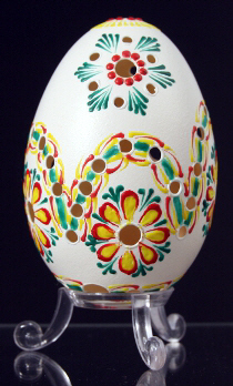 Decorated with wax egg shells : Slovakia