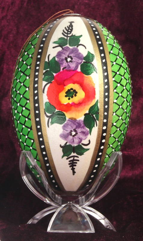 Decorated egg : Poland